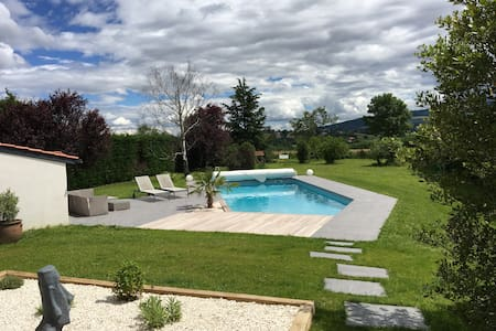 House with swimming pool near Lyon - Dommartin - Maison