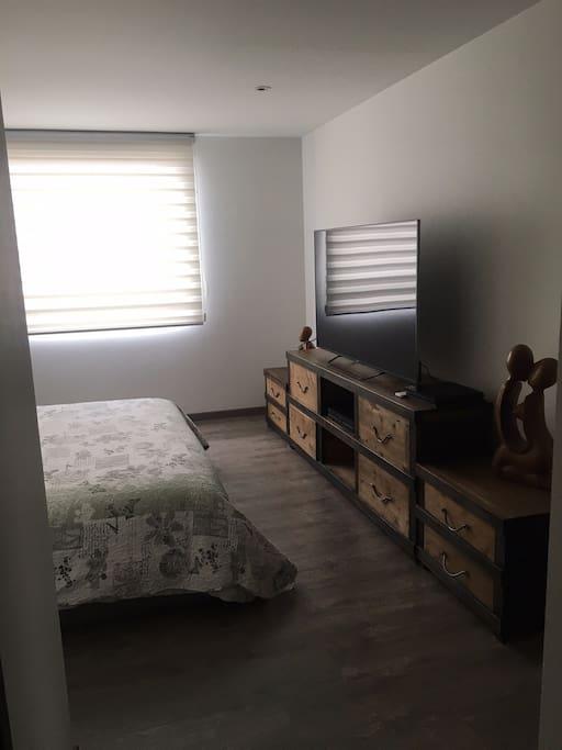Habitación principal cama king size