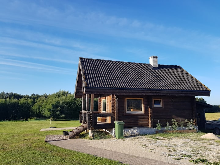 Cozy sauna house