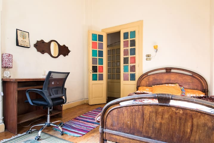 Sunny bedroom in the heart of Cairo - Cairo - Departamento