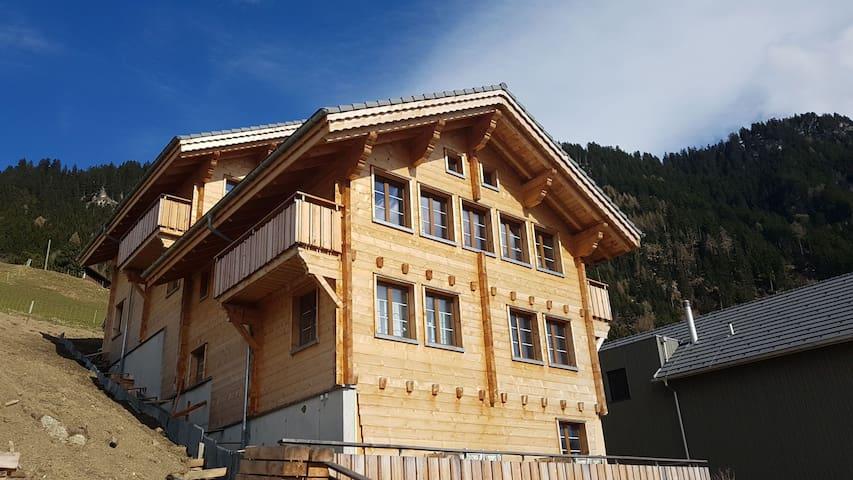 Hoch über Vaduz bei Malbun, Triesenberg, Aussicht