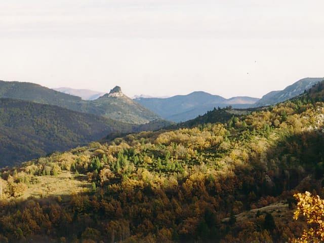Maison avec vue à Esparon en Cévennes