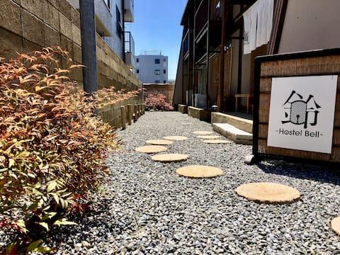 Hostel in Osaka near Kyoto!!