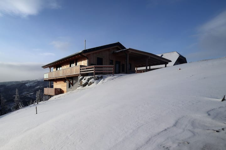 Luxurious Chalet in Klippitztörl with Sauna