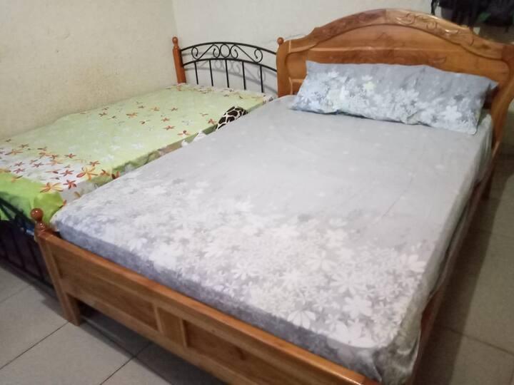 habitacion crema