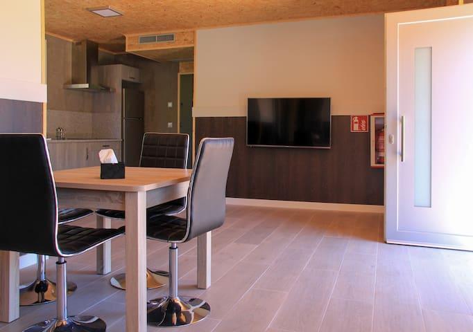 Apartamento 2 habitaciones Celtainer Espiral