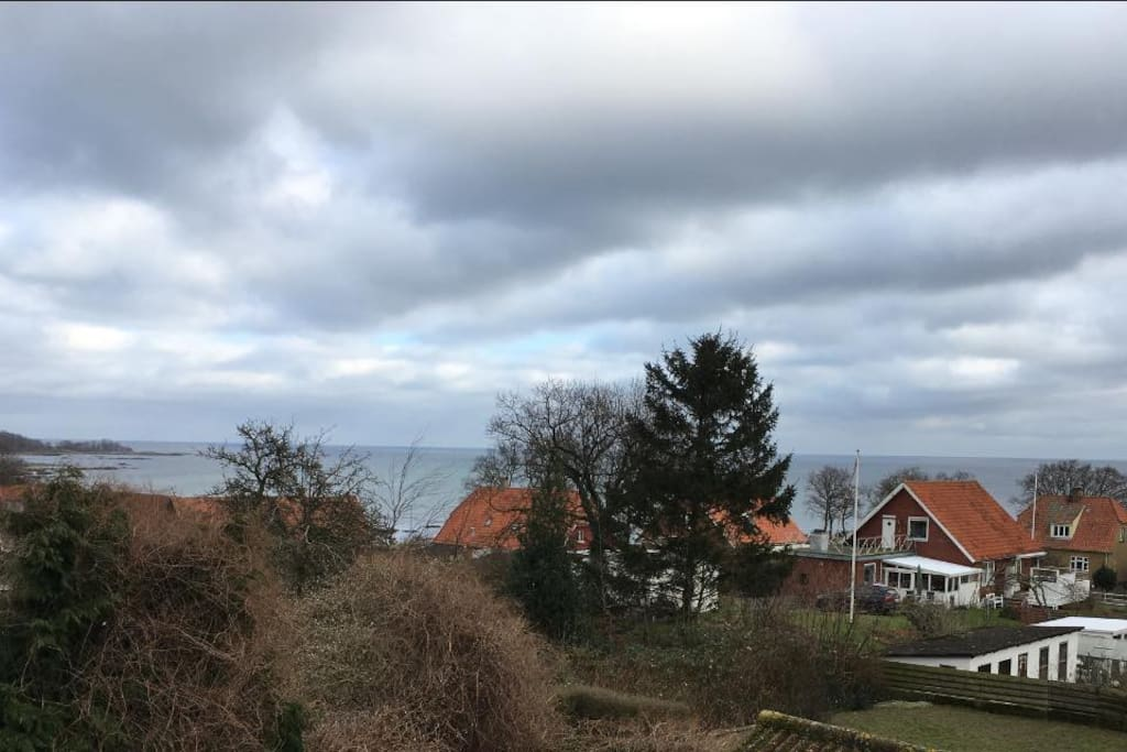 Seaview from the house
