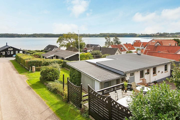 Balmy Holiday Home in Hejls with sea view