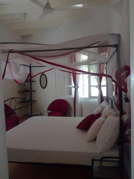Chambre lit double king size