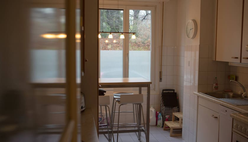 Room in cozy spacious apartment - center of LSN - Lausanne - Byt