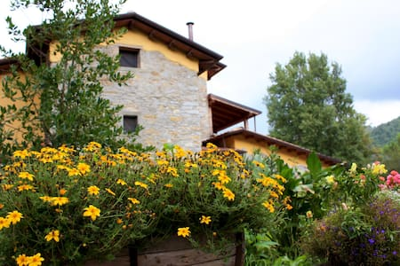 Lunigiana large farmhouse with pool - Gragnola - Villa