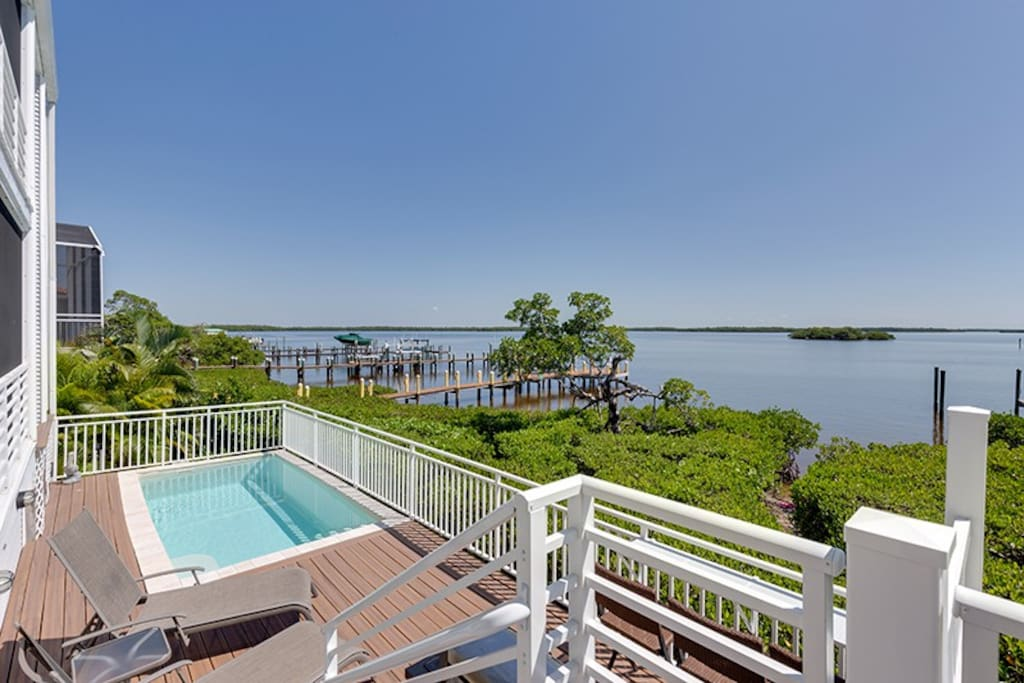 Fort Myers Beach Bayfront House For Rent