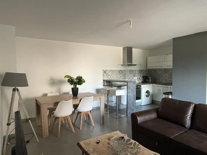 Bel et agréable appartement 2P