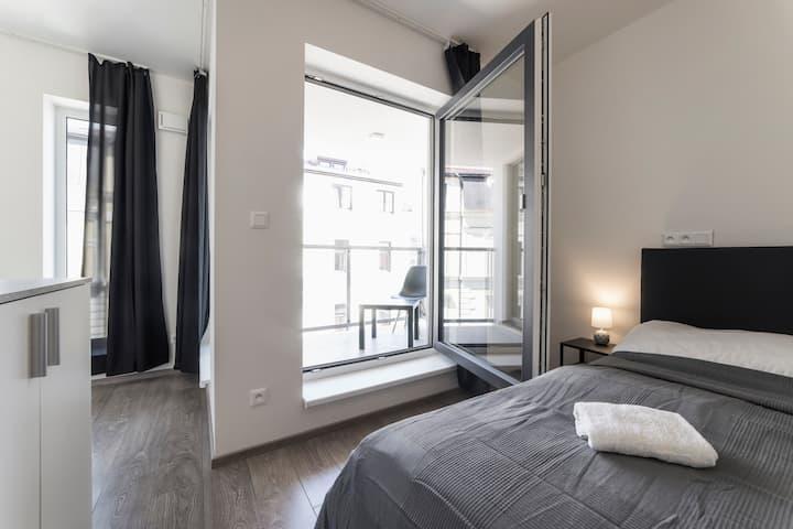 Double room with balcony Homér