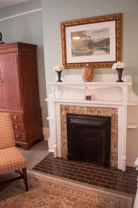 The Meadow - Fireplace