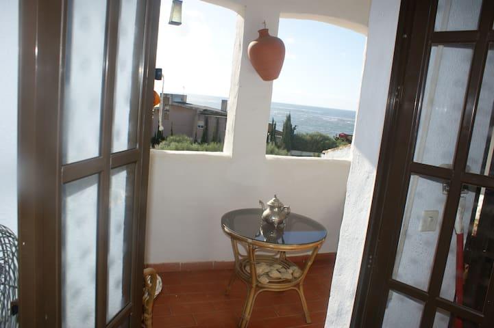 Habitación con terraza al mar - Laguna de El Portil - Leilighet