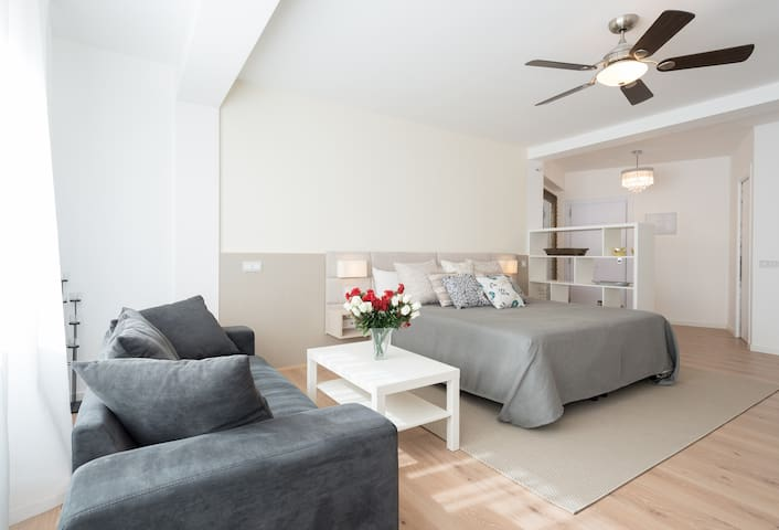 Spacious Studio, bright and Modern Features - Soho