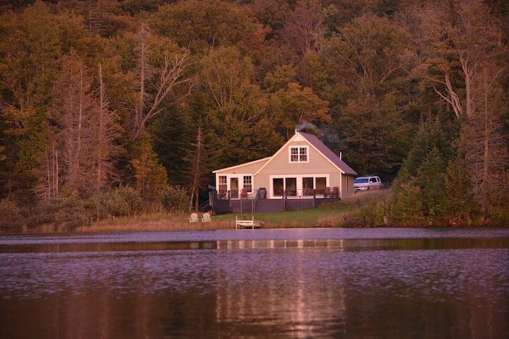 Mountaintop Lake Retreat