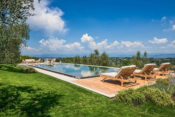 Villa Miniato - Villa with panoramic pool
