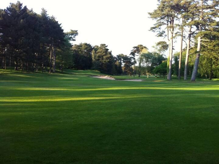 Villa familiale vue extraordinaire sur Golf