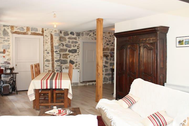 Maison forte Osse en Aspe - Bedous - Casa