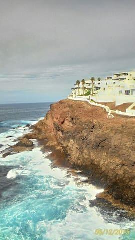 Aquiler de apartamento vista al mar - Gáldar - Квартира