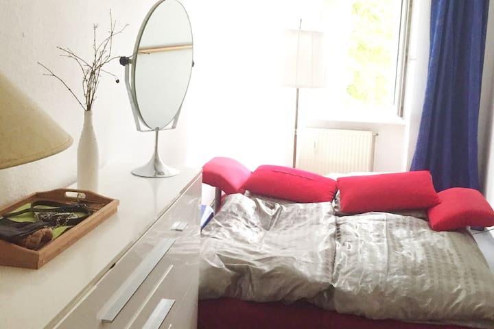 kleines gemuetliches Zimmer in Neukoelln fuer 2