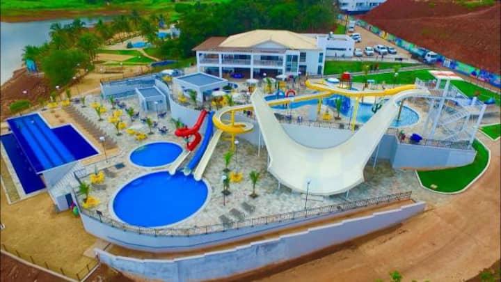 Apto - Resort do Lago - Caldas Novas/GO