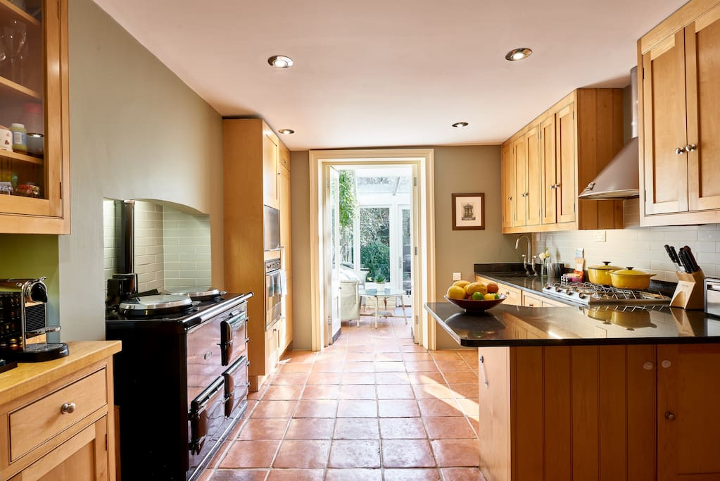 My property has everything you need; a gorgeous kitchen...