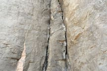 Seeking out body-width chimneys in the Owens River Gorge