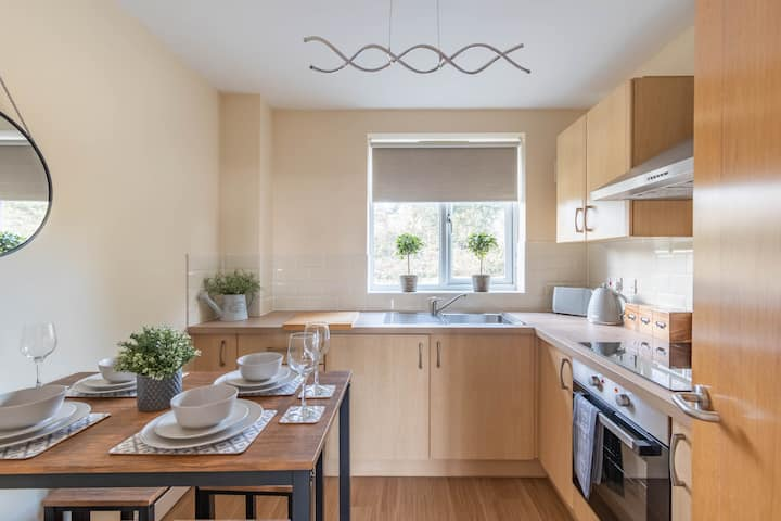 A Lovely 2 Bed Apartment in Witney Town Centre