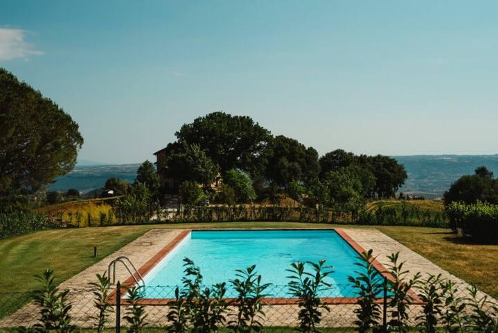 Elegante Casale con piscina ad Orvieto