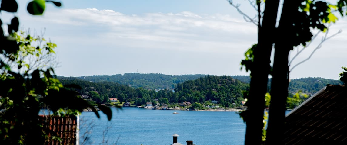 Eco-friendly appartment in the center of Kragerø