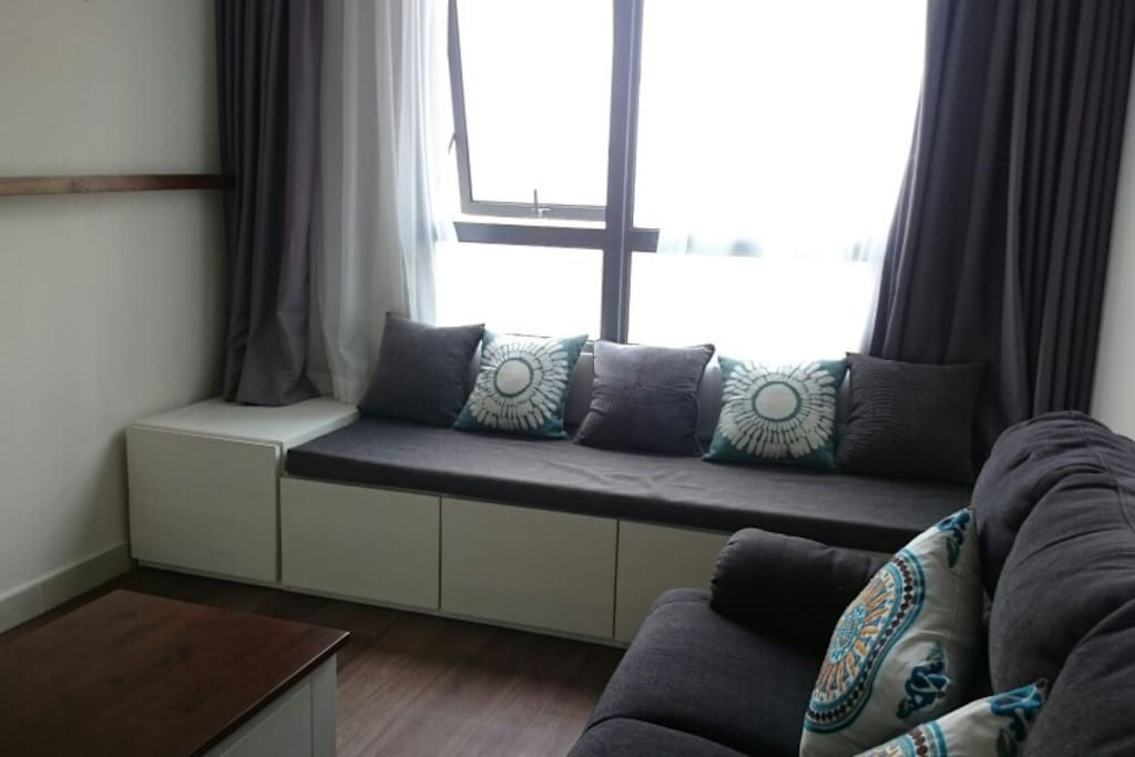 living room (sofa bed)