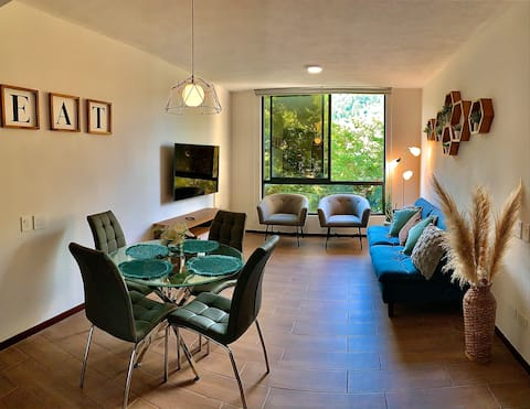 ¡NEW! MODERN APARTMENT, LUXURIUS AND WELL LOCATED.