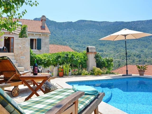 Vacation Villa Ciara for 8 person, private pool - Vrisnik