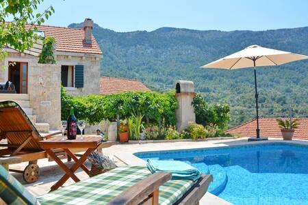 Vacation Villa Ciara for 8 person, private pool - Vrisnik - 獨棟