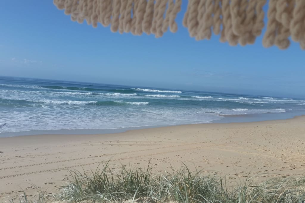 A day at the North Peregian Beach barely an 8 minute walk away.
