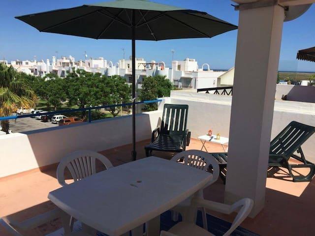 T2, Algarve, Santa Luzia 100mt from the beach - Santa Luzia - Apartemen