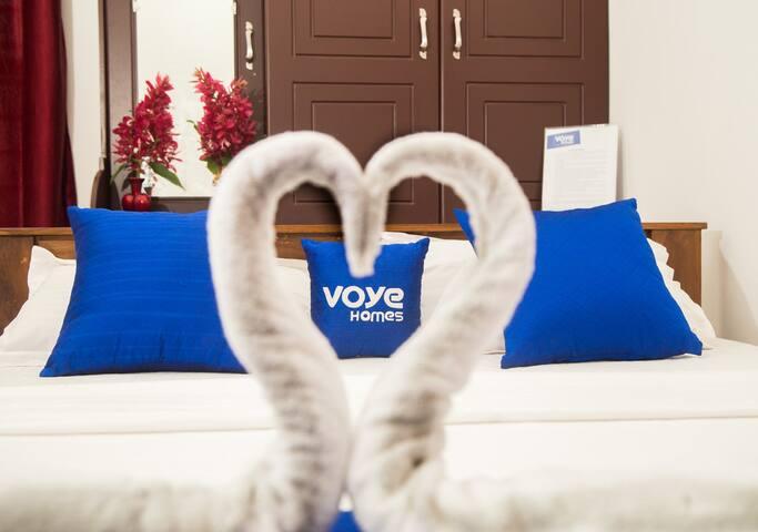 Bedroom at Voye Homes Wayanadan Vila