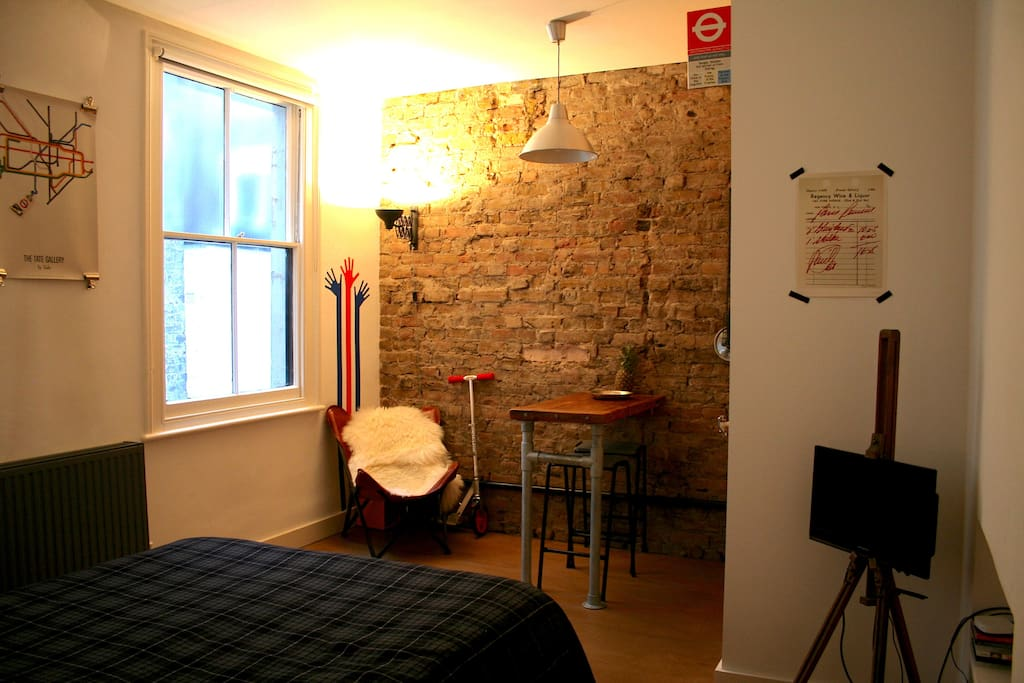 A cool apartment in chilled out Pimlico.