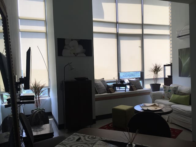 Nice New 1 Bedrm Condo-Loft in BGC