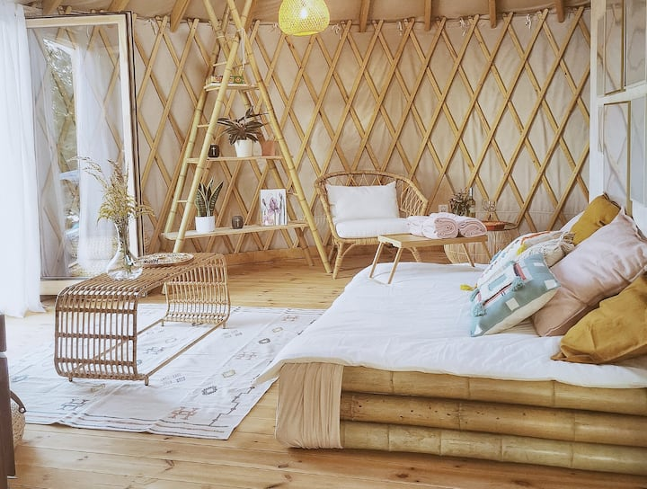 LushHills | Natural And Modern Yurt
