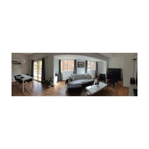 Habitación doble en apartamento - València - Leilighet