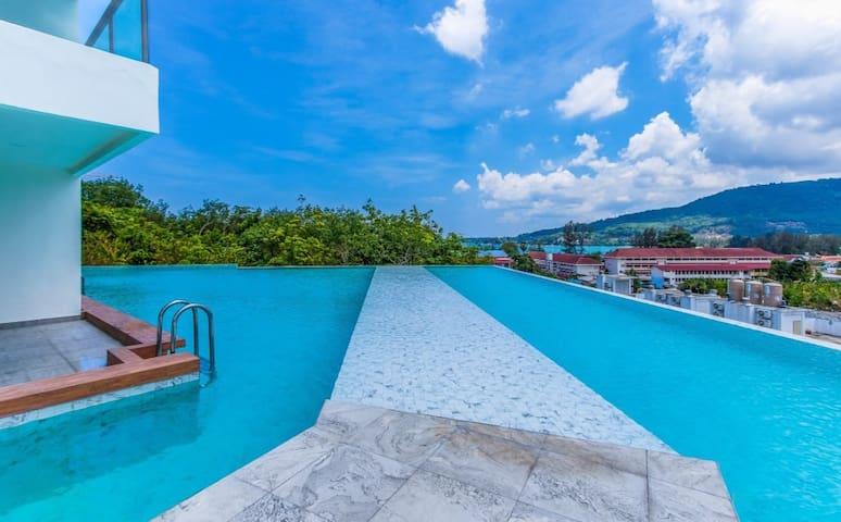 Kamala 1 bedroom Sea view Condo For Rent C51
