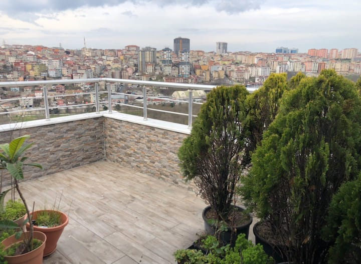 penthouse with istanbul view