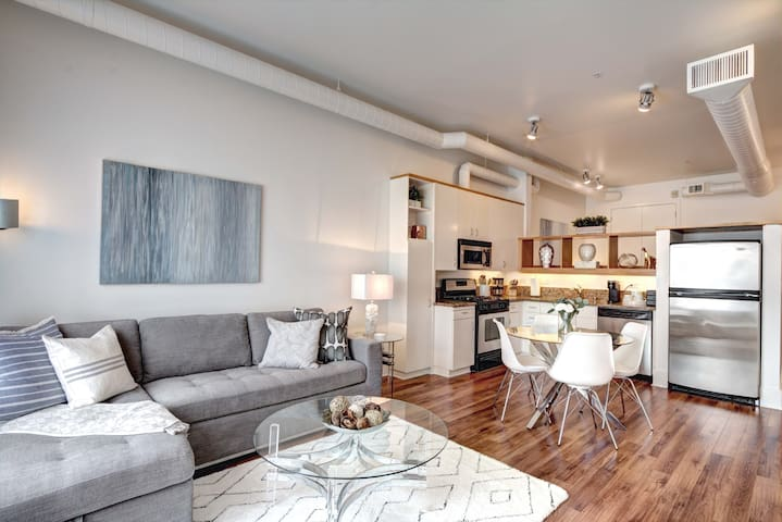 Santana Row Loft Style Condo in Silicon Valley