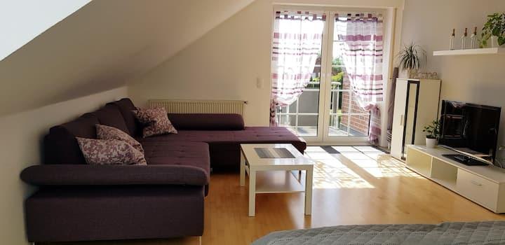 """""""Sternenhimmel"""" helles 27qm gr.Zimmer mit Balkon"""