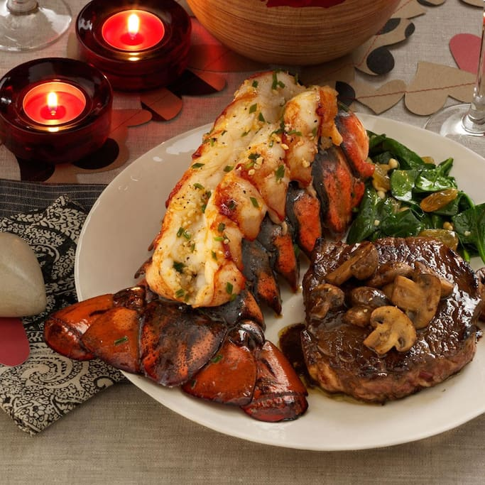 Succulent Lobster tail from our rooftop restaurant