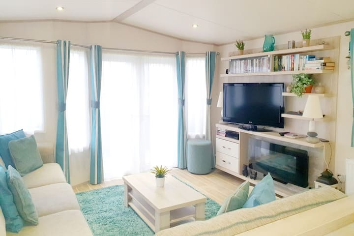 Unique, beach-hut style holiday home